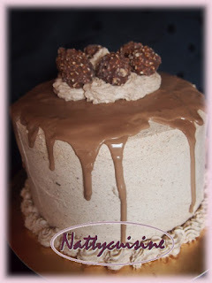 Layer cake ferrero