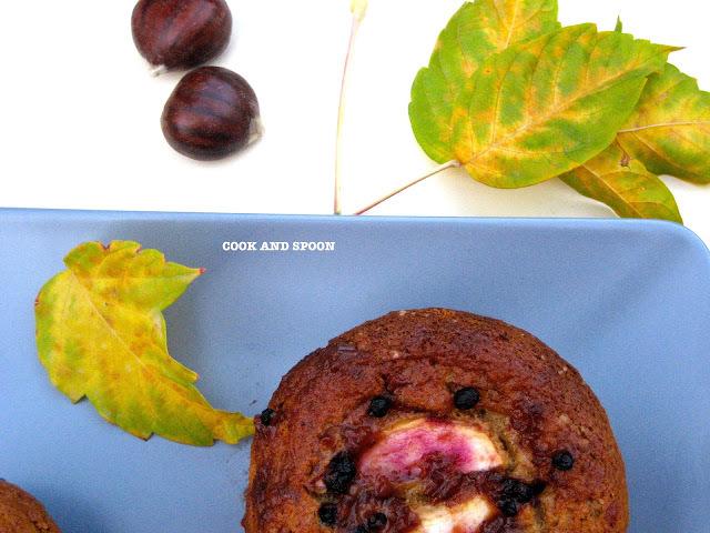 CAKE DE MANZANAS Y ARÁNDANOS