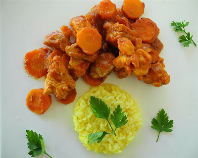 Pollo con Paprika (Paprikahuhn)