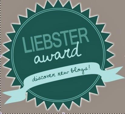 My First Blog Award- LIEBSTER AWARD