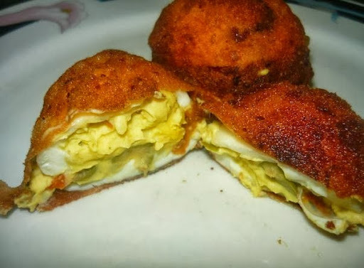 Ovos Recheados Fritos