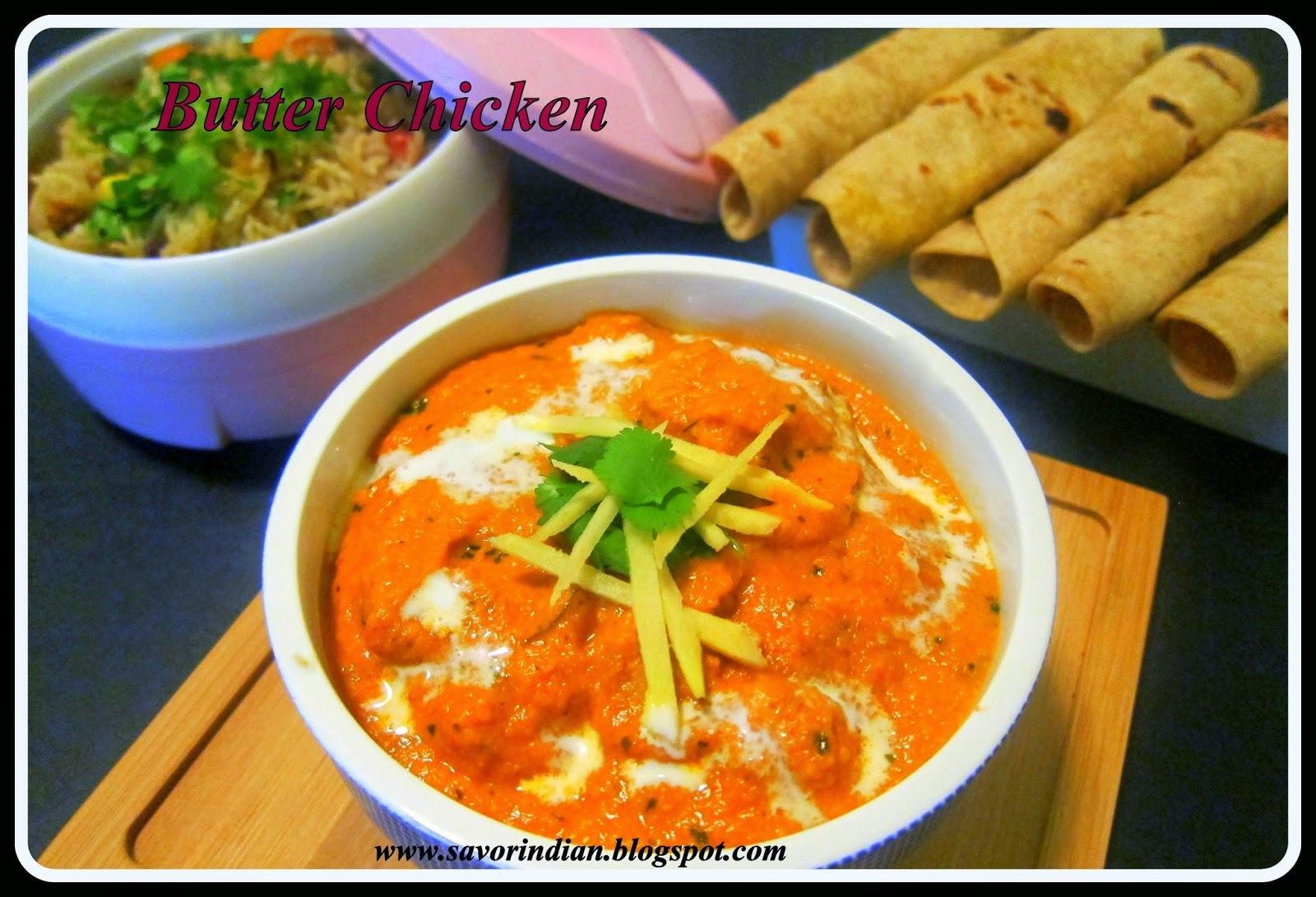 Restaurant Style Butter Chicken Recipe /Indian Butter Chicken Recipe/Chicken (Murgh) Makhani