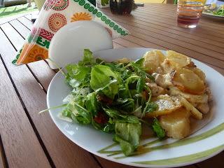 Kuracie mäso zapekané so zemiakmi