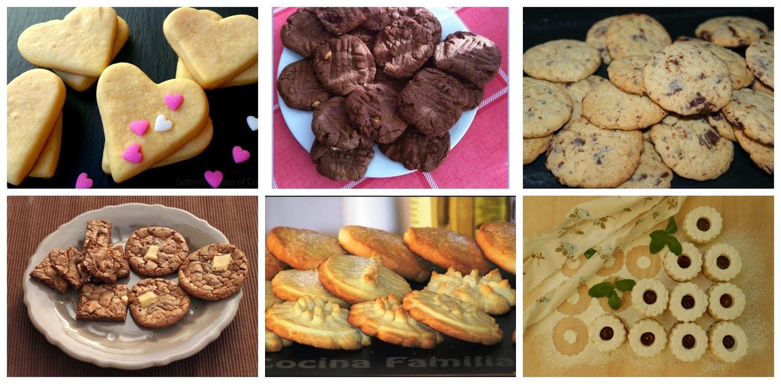 6 Recetas fáciles de galletas