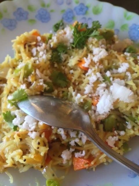 Vegetable Sevai