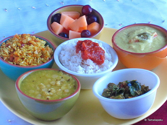 Carrot Majjigapulusu ~ Carrot Kadhi - Weekend Thali