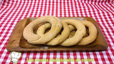 Receta de Roscas de San Blas