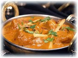 butter jeera chicken with curry sauce