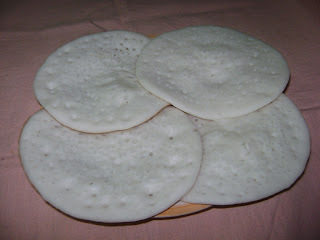Vellayappam (Traditional fare)