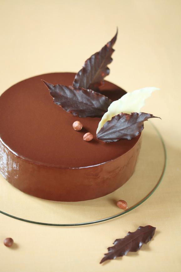 Торт-мусс с шоколадом и фундуком / Torta mousse de chocolate e avelã