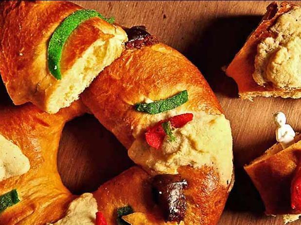 Rosca de Reyes casera