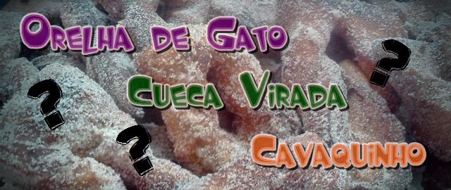 Orelha de Gato, Cueca Virada ou Cavaquinho??? E Resultado Sorteio da VITAO!