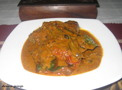 Kerala Style Tomato Fish Curry