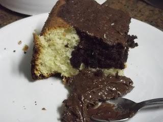 de bolo de favo de mel