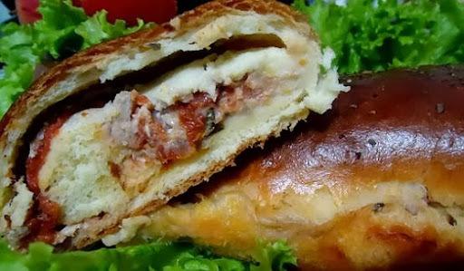 Pão de Presunto com Tomate Seco