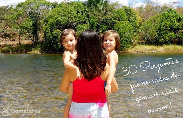 30 Perguntas que as mães de gêmeos mais ouvem!
