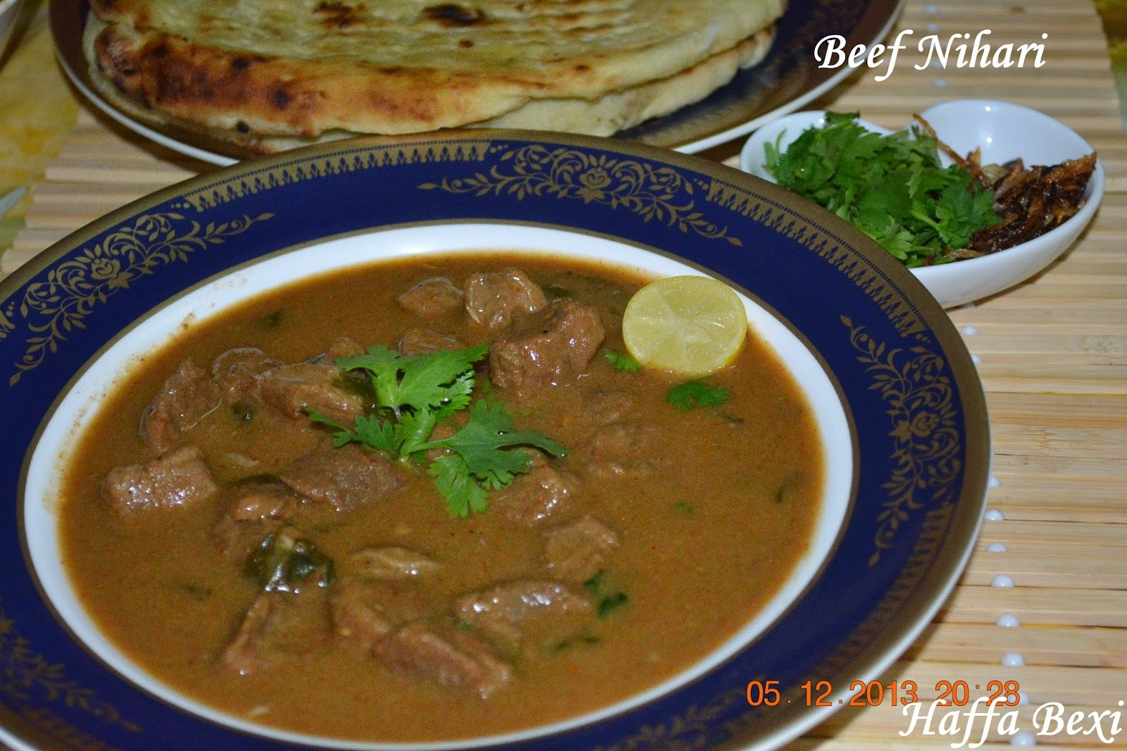 Beef-Mutton Nihari - Eid Special