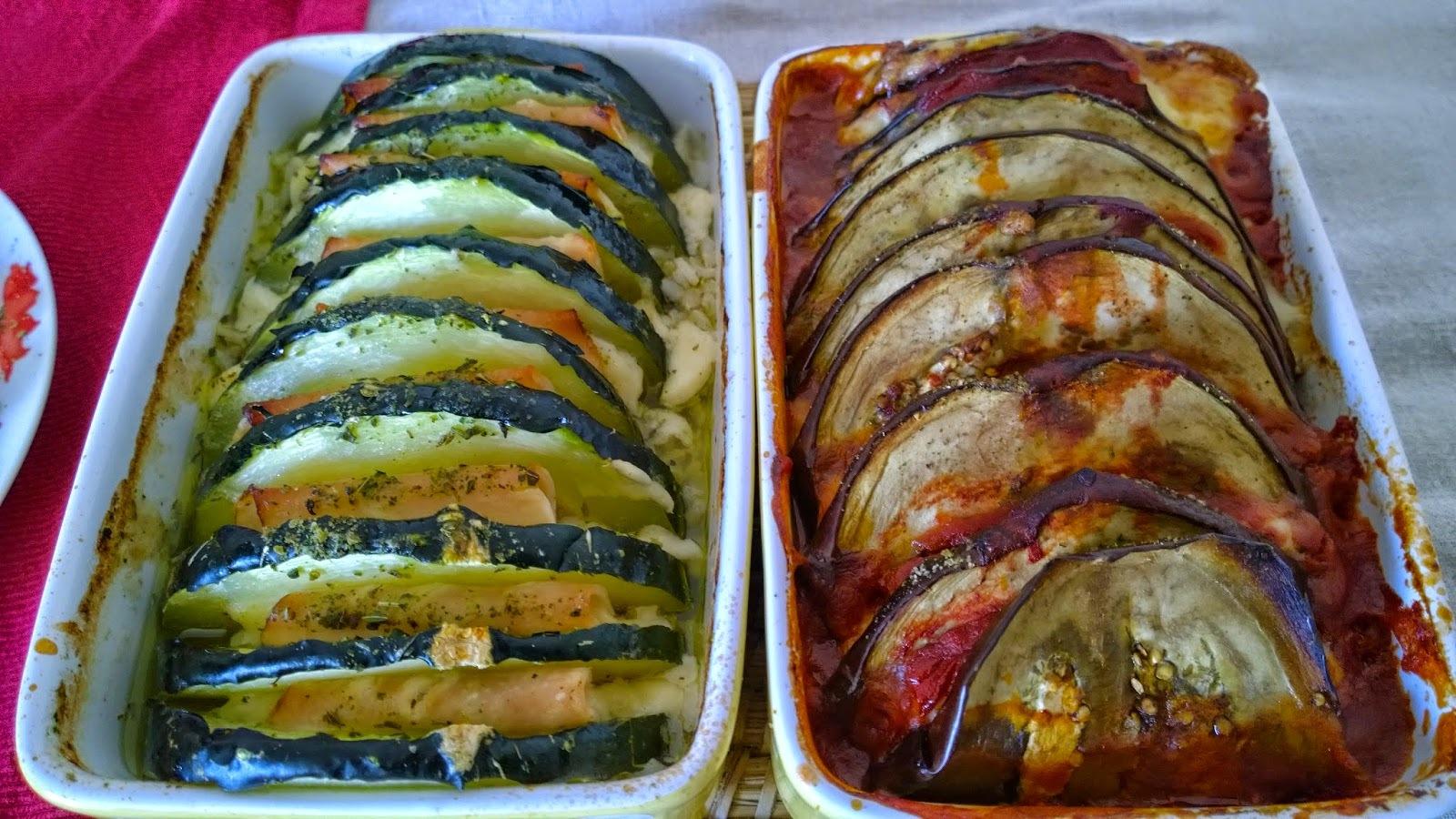 courgette et aubergine façon Orloff