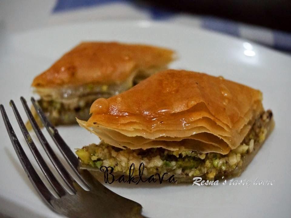 Baklava a Turkish sweet
