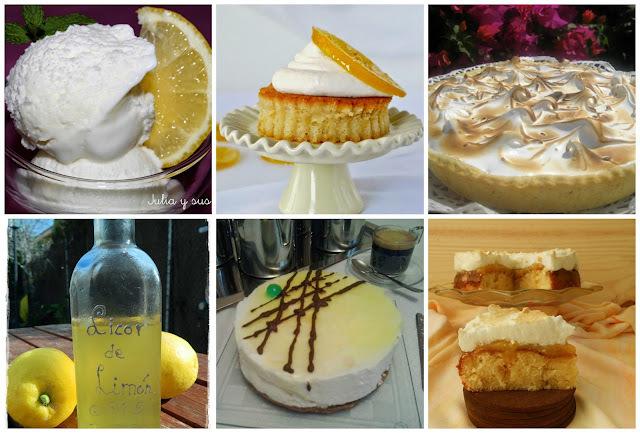 Postres deliciosos con limón (Parte I)