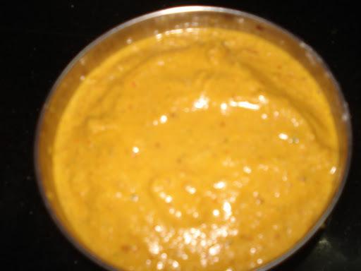 Capsicum - Carrot Chutney