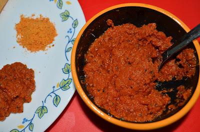 Tomato chutney/ thakkali thokku/ Spicy tomato dip