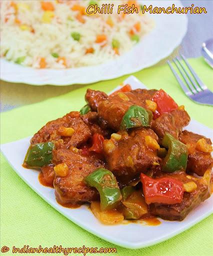 Fish manchurian | chili fish manchurian recipe | Indian Chinese recipes