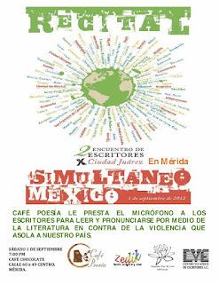 Escritores por Ciudad Juárez... en Mérida