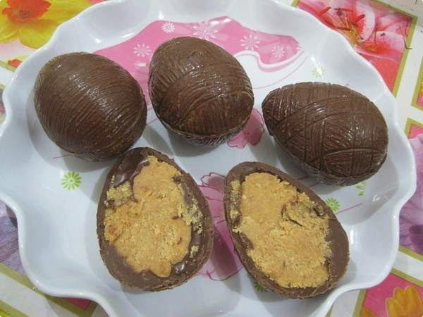 Ovos de Páscoa Recheados