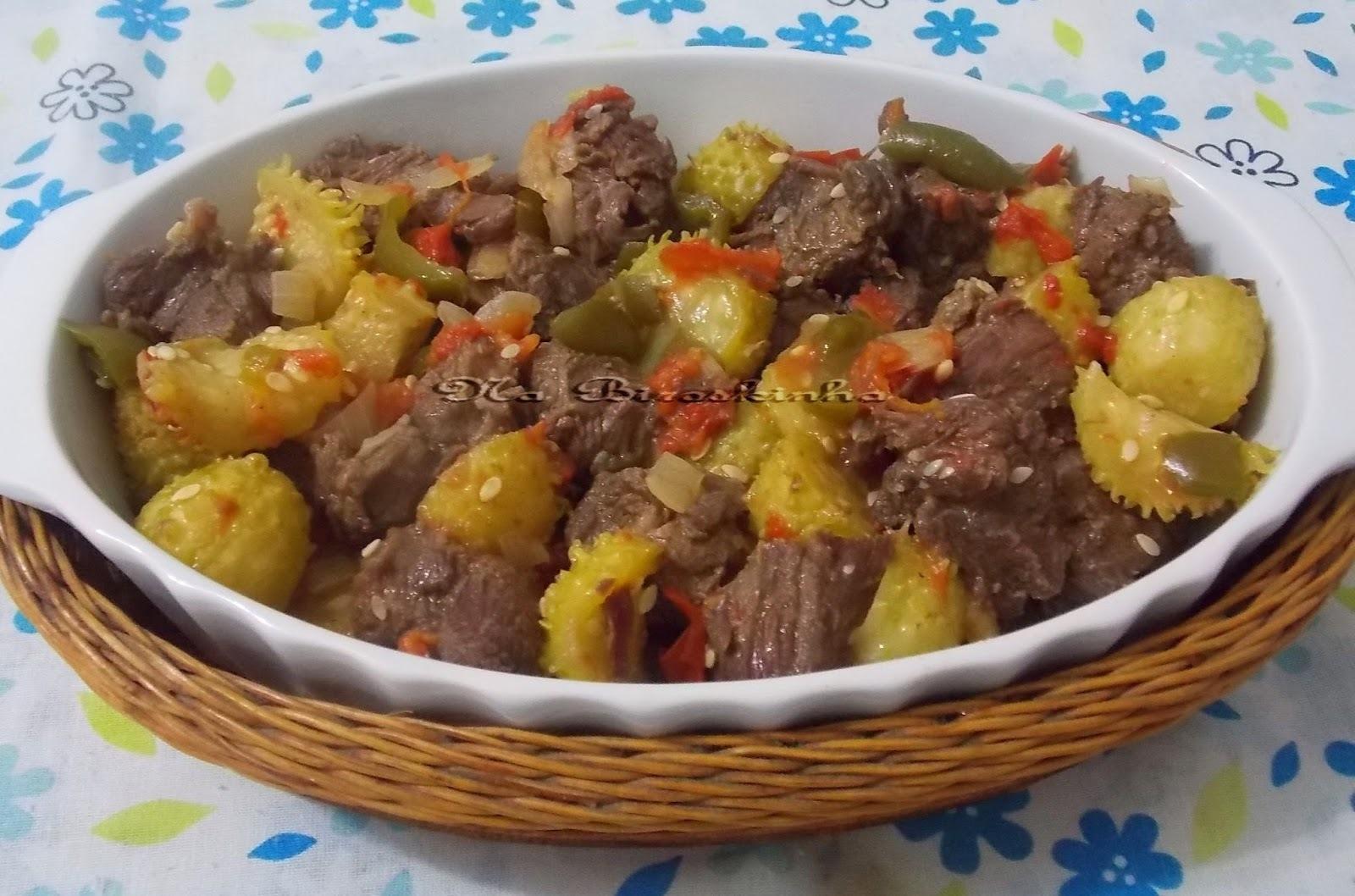 Cozido de Carne com Maxixe