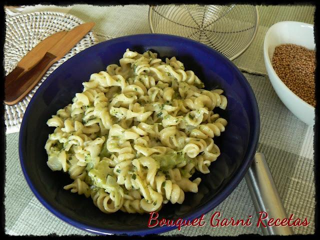 Hoy: Pasta con salsa de brócoli