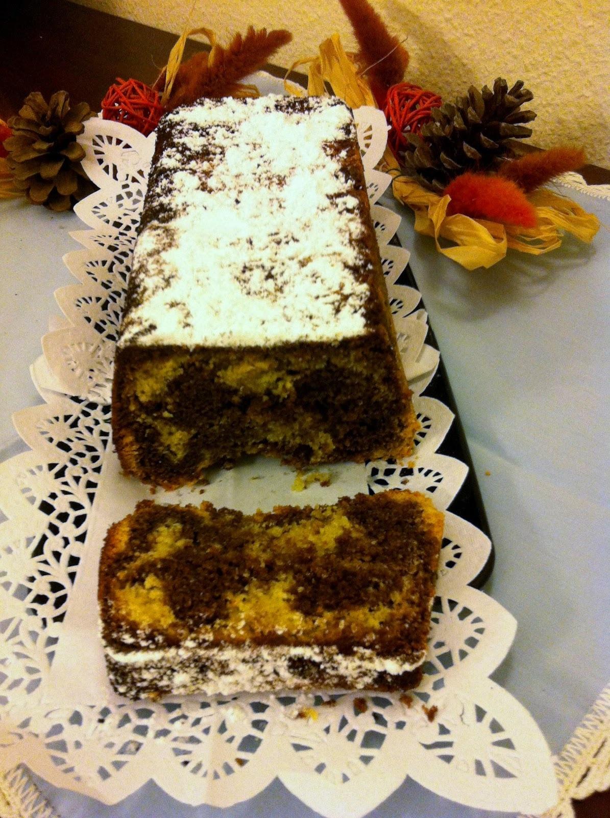 Plum cake de xocolata