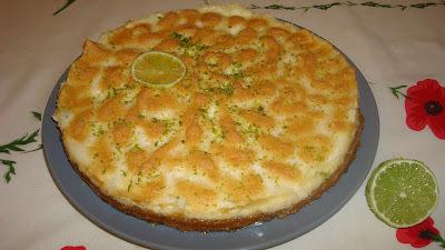 torta de limao rapida com biscoito maizena