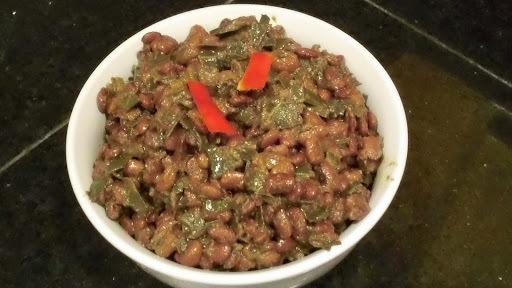 Tepary Bean Green Masala