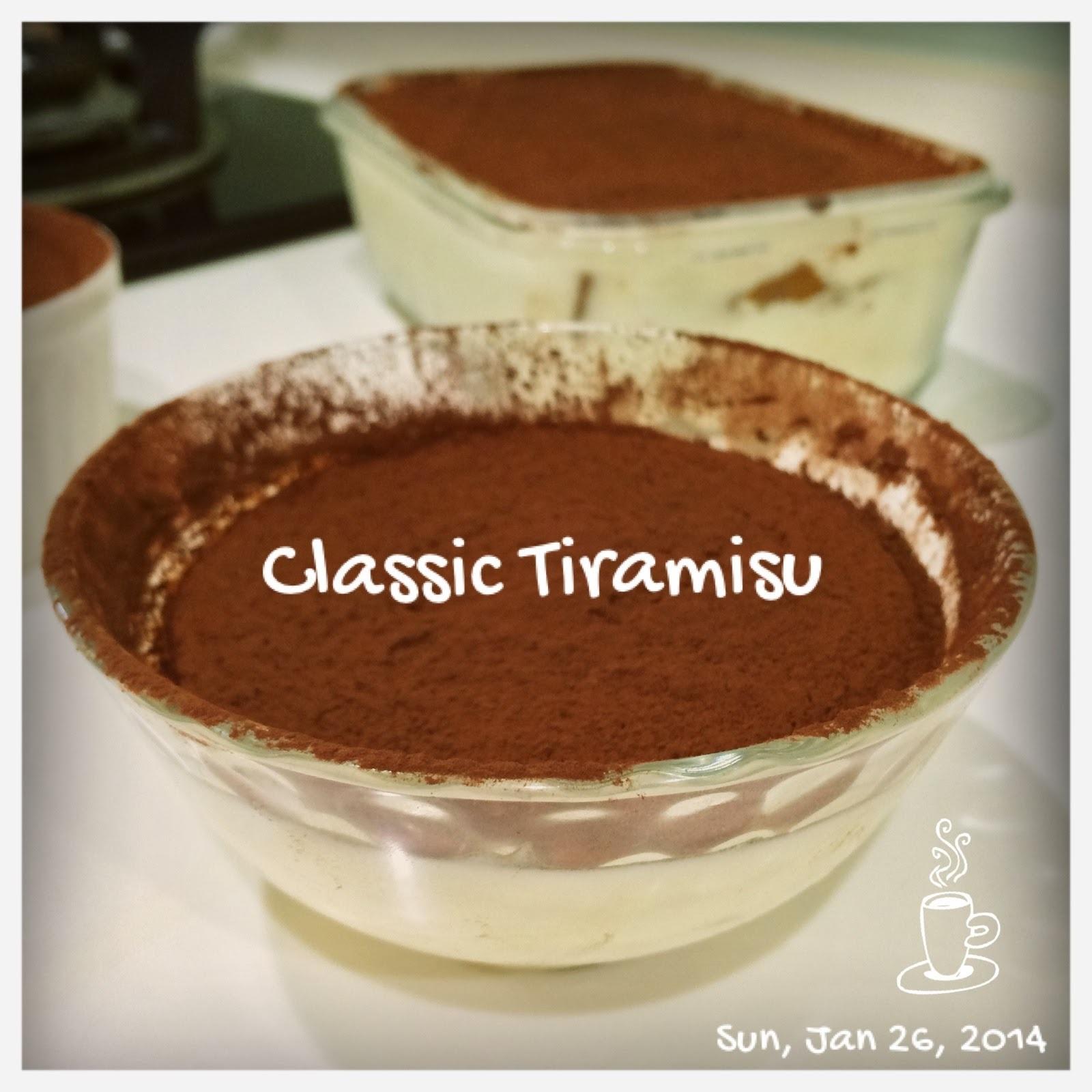 [食譜-蛋糕] 提拉米蘇 - 經典義式風味
