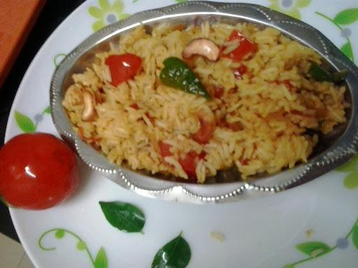 tomato rice recipe |tomato bhat andhra style |thakalli sadam