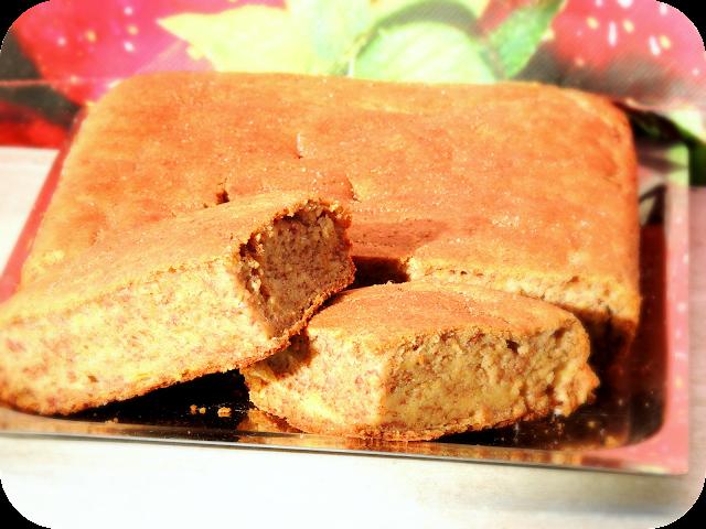 Torta de banana sin TACC, sin azúcar agregada y Paleo ♥