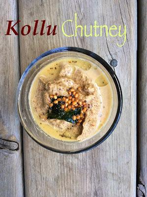Kollu/Horse Gram Chutney