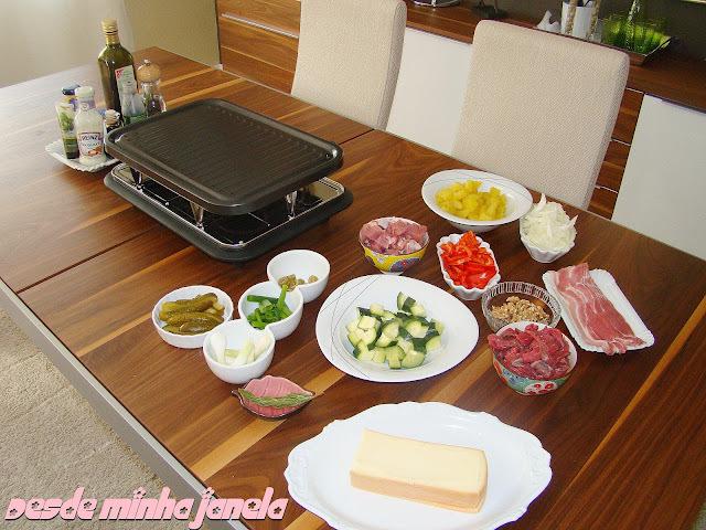 Raclete, um prato suiço maravilhosooo!!!!!!!!!