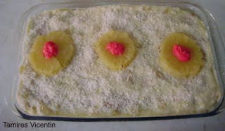 batida de abacaxi com leite condensado e guarana