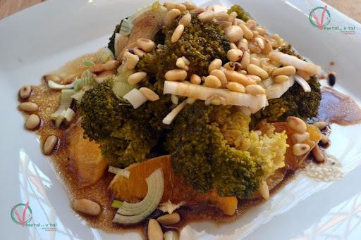 vinagreta para ensalada de brocoli con zanahoria