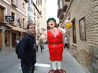 Paella em Toledo - Viagem Europa - 4º dia - Parte I