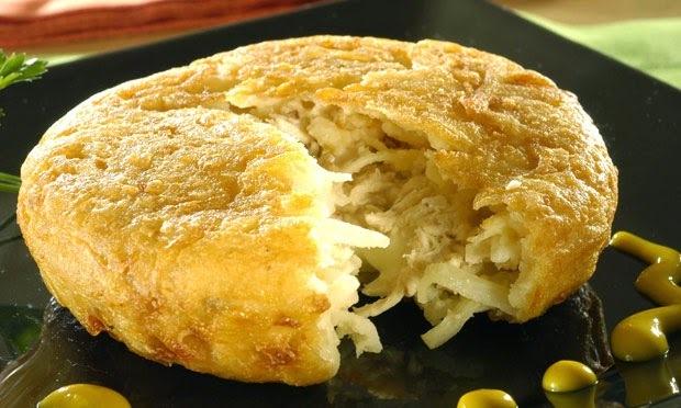 batata suiça recheada ao forno