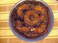 torta de manzana con bizcochuelo exquisita