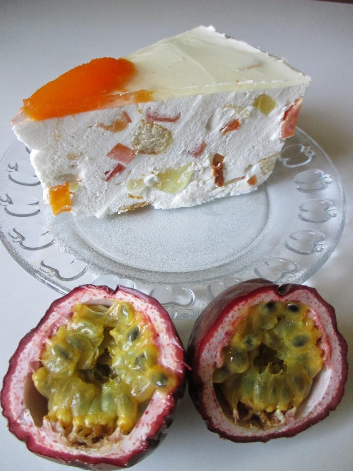 Tropikana cheesecake