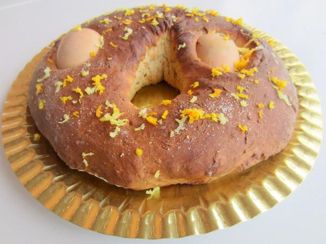 Mona de Pasqua tradicional, la dels ous