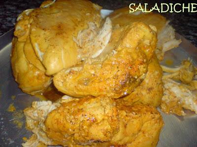 molho de frango desfiado com maionese