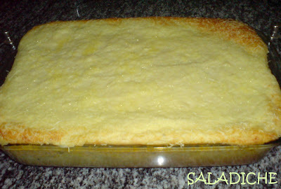 TORTA DE BATATAS COM FRANGO