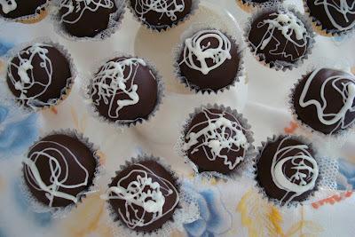 recheio de trufa de chocolate branco