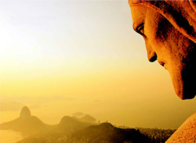 """..."""" Braços abertos sobre a Guanabara. Estou morrendo de saudade..."""""""